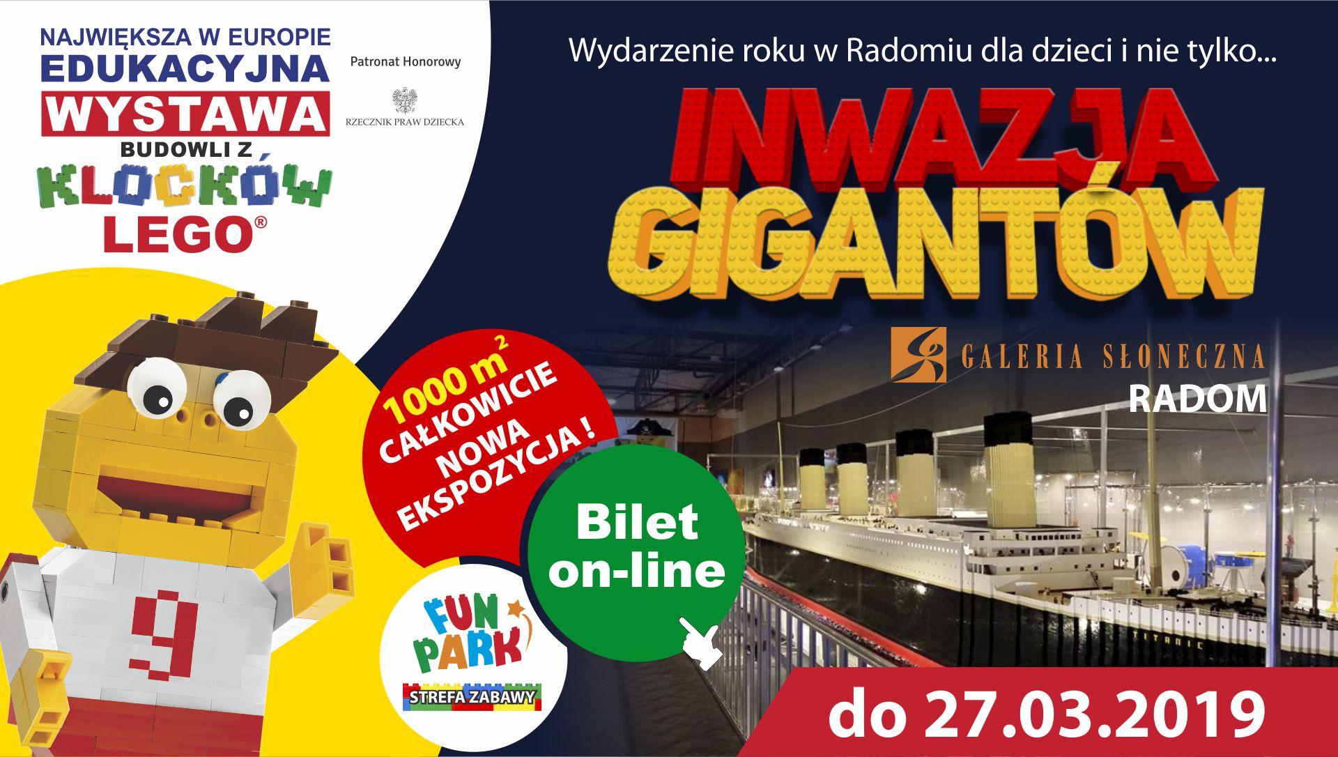 Największa W Polsce Wystawa Budowli Z Klocków Lego Radom